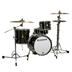 Ludwig LC179X Breakbeats Questlove Black Sparkle
