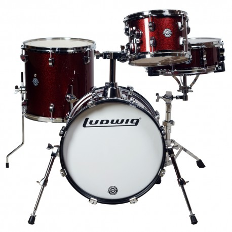 Ludwig LC179X Breakbeats Questlove Wine Red Sparkle