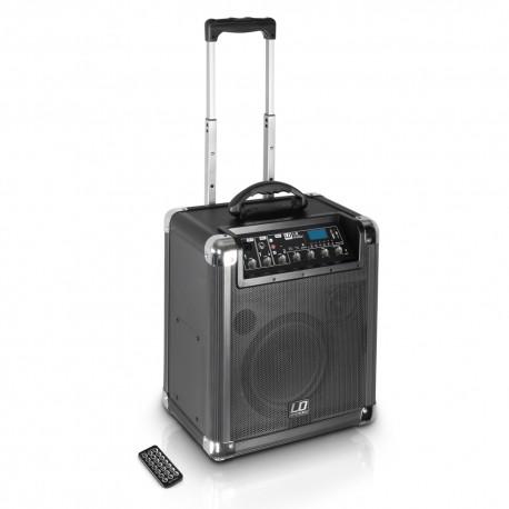 LD Systems Roadjack 8 - przenośny głośnik wyposażony w mikser