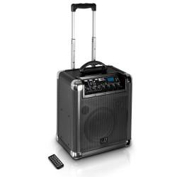 LD Systems Roadjack 10 - przenośny głośnik wyposażony w mikser