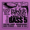 Ernie Ball 2821 Power Slinky 5-String Bass Nickel Wound