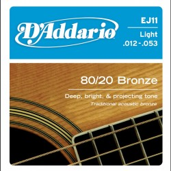 D'Addario EJ11 80/20 Bronze