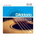 D'Addario EJ16 Phosphor Bronze Light