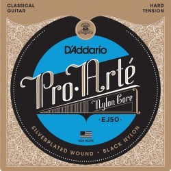 D'Addario EJ50 Pro-Arté Nylon, Hard Tension