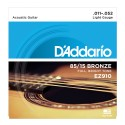 D'Addario EZ910 85/15 Bronze, Light, 11-52