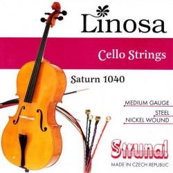 Linosa Saturn 1040 struny do wiolonczeli 4/4 - 3/4