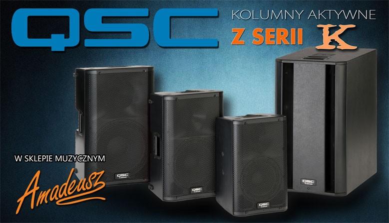 QSC Kolumny Aktywne z serii K w Sklepie Muzycznym Amadeusz